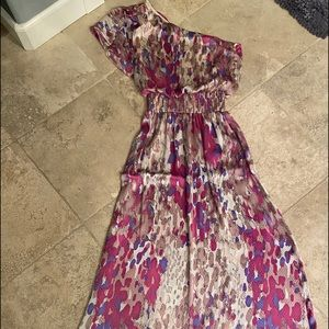 PERFECT Satin one shoulder Satin Dress 👗!!!
